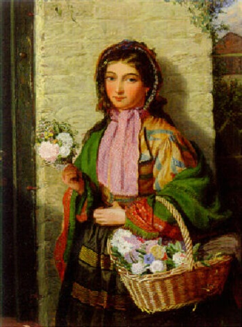the flower girl by james h edgar