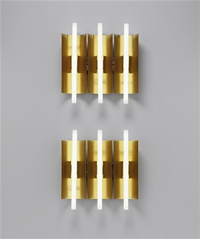 wall lights (from the palazzo gallini, voghera) (pair) by gio ponti