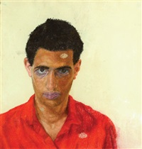 self portrait by aram gershuni