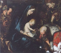 the adoration of the magi by paolo piazza