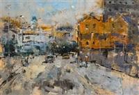 merchants quay, dublin by andrew hood