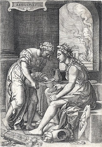 arthimesia by georg pencz