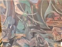 paysage by jean désiré bascoules