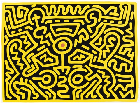 untitled from growing by keith haring