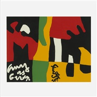 untitled (from ten works x ten painters portfolio) by stuart davis