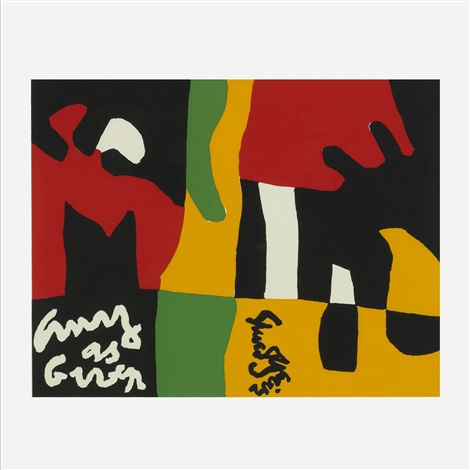 untitled from ten works x ten painters portfolio by stuart davis