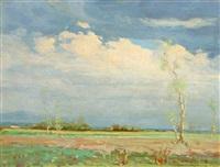 atmospheric landscape by victor clyde forsythe