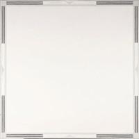 compositie met vierkant en acht messen by jannes roeland