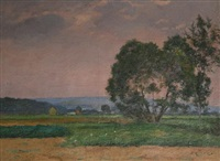 country landscape by jules ernest renoux