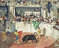 the bullfight by james le jeune