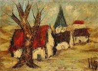 le village by henri d' anty