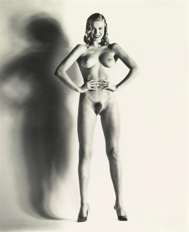 big nude una nice by helmut newton
