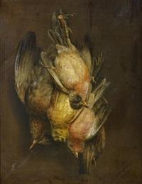 nature morte aux oiseaux by augustine vervloet