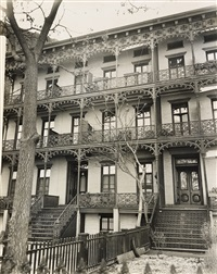 wrought iron ornament, 112-114 w. 11th street, manhattan. oversized by berenice abbott