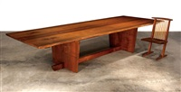 minguren ii dining table by mira nakashima-yarnall