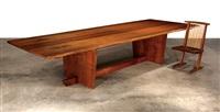 minguren ii dining table by mira nakashima-yarnall