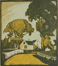 atlantic avenue (provincetown) by george g. adomeit