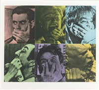 six colorful gags (male) (coplan hurowitz 56) by john baldessari