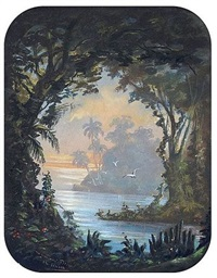paysages des comores by charles merme