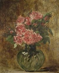 vase de fleurs by charles frédéric jung
