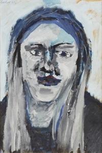 portrait of a woman by vladimir yakovlev