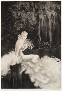 orchids by louis icart