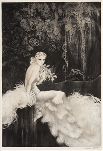 artwork by louis icart