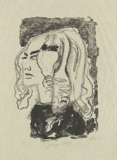 junges mädchen by otto dix