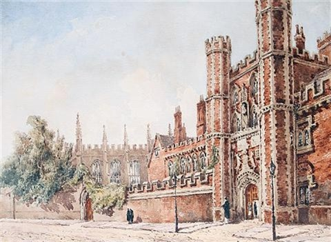 gateway to st johns college cambridge by joseph murray ince