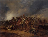 a skirmish in the napoleonic wars by ludwig elsholtz