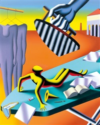 like this by mark kostabi