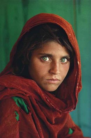 afghan girl by steve mccurry
