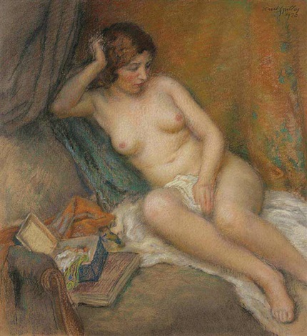 a nude girl by karel spillar