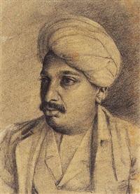 portrait by abalal rahiman