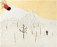 mountain painting by jon pylypchuk