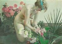 between flowers by maija tabaka