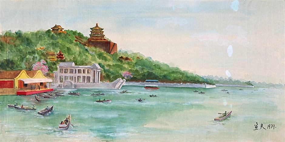 颐和园风景 by qin xuanfu