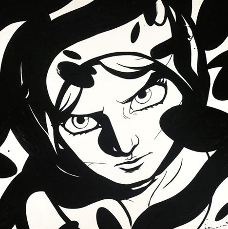 monochrome by yoshitaka amano