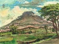 pemandangan (landscape) by s. sudjojono