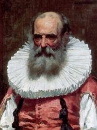 Portrait of a gentleman in historical costume