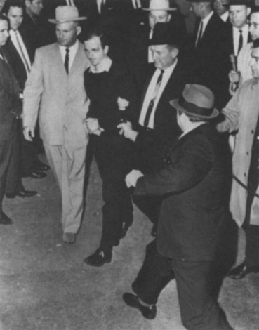 jack ruby dallas nightclub owner shooting lee harvey oswald by robert h bob jackson