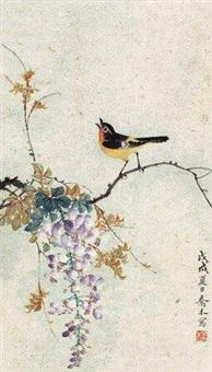 紫藤小鸟 by qiao mu