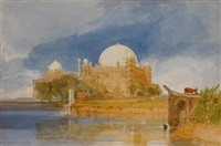 sultan mahamed shah's tomb, bejapore, india by john sell cotman