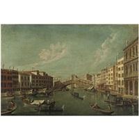 venezia, l'isola della giudecca con la chiesa del redentore (+ il ponte di rialto con la riva del vin; pair) by francesco tironi