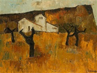 paysage by raymond guerrier