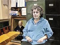 portrait of esther moroze, communist party usa by yevgeniy fiks