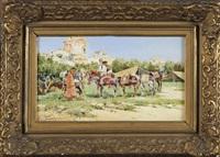 les cavaliers by mariano obiols delgado
