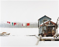 peter's houseboat, winona, minnesota by alec soth