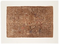 flight over forms by mark tobey