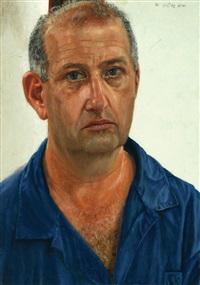 portrait of moshe gersuni by aram gershuni